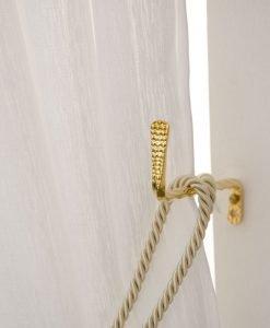 Tieback Hook Gold Hasta